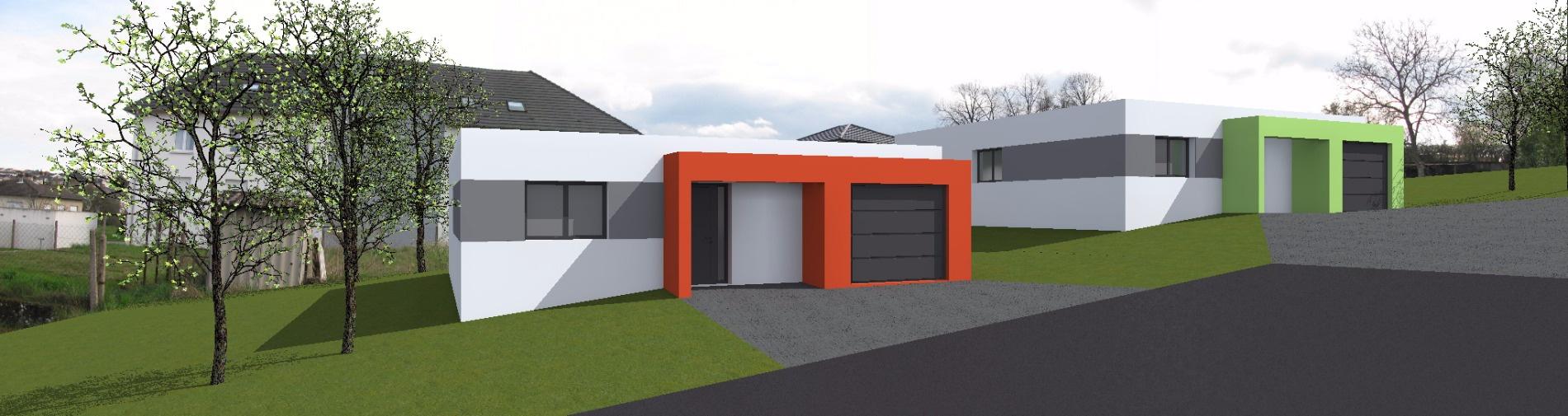 Vente projet de construction d une maison de 100 m for Vente projet de construction